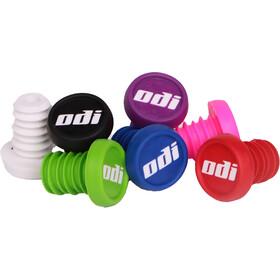 ODI BMX Handlebar End Plugs, white